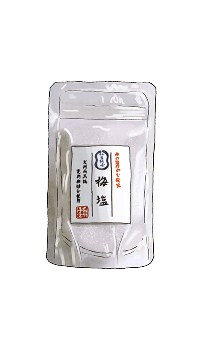 UMEBOSHI PLUM SALT 100GR